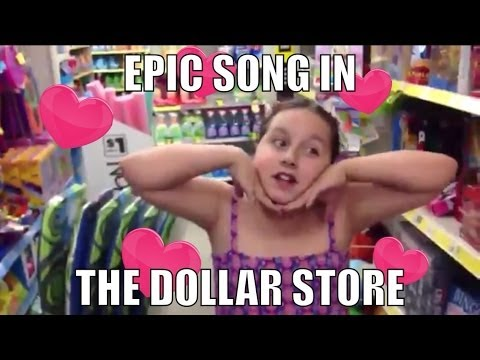 Dad and Daughter Duet!  Having Fun with Parenting in the Dollar Store