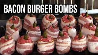 Bacon Burger Bombs by the BBQ Pit Boys by BBQ Pit Boys