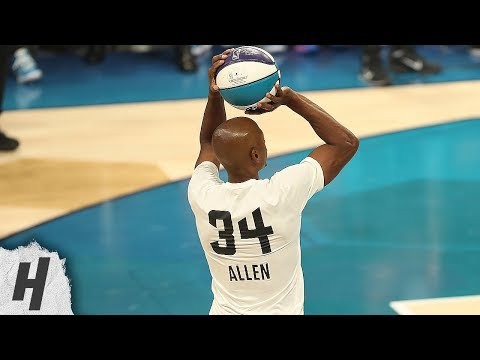 NBA Legends Three-Point Contest - Full Highlights | 2019 NBA All-Star Weekend