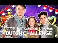 THOMAS DOHERTY & CAMERON BOYCE TRY DUTCH FOODS AND GAMES
