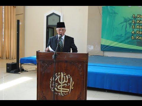Sambutan Ketua Lembaga Pendidikan Islam Sabilal Muhtadin pada Pelantikan Kepala Sekolah Baru Peroide 2017-2019