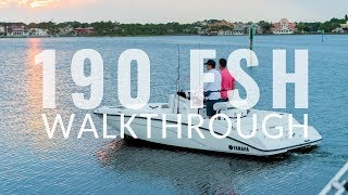 5. First Look at Yamaha's 2019 190 FSH Series With Boating Writer Charles Plueddeman