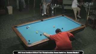 Shannon Murphy Vs. Danny Smith At The Great Southern Billiard Tour Championships Michael's Billiards