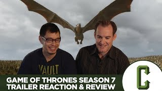 Dennis Tzeng and Ken Napzok react to and review the first official trailer for 'Game of Thrones' Season 7. Check out the trailer here: https://www.youtube.co...