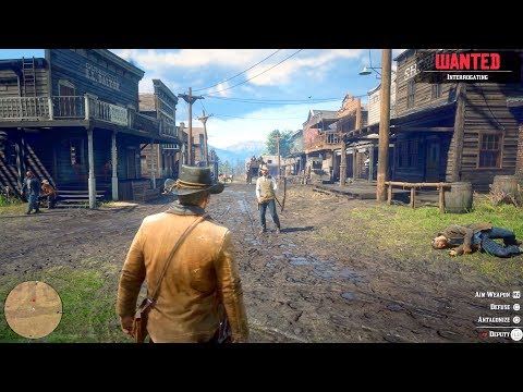 Red Dead Redemption 2  - 6 Minutes of NEW Gameplay (4k 60fps)