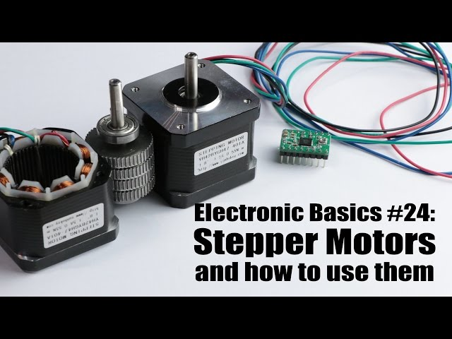 Electronic Basics 24 Stepper Motors And How To Use Them