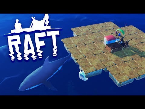 SURVIVAL BEGINS! Raft Survival Episode 1