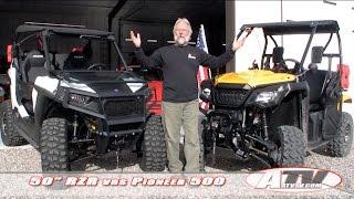 7. ATV Television Special - Polaris RZR vs Honda Pioneer 500