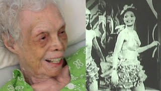102 y/o Dancer Sees Herself Dancing on Film for the First Time