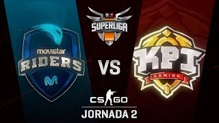 KPI GAMING VS MOVISTAR RIDERS - MAPA 1 - SUPERLIGA ORANGE - #SUPERLIGAORANGECSGO2