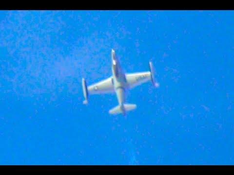 Aircraft T-33 Jet on 2013 Madras...
