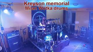Video Milan Wotka drum solo - Kreyson Memorial
