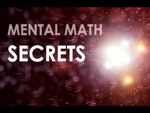 Schnell quadratische Zahlen Ending in 5 - Mental Math Secrets
