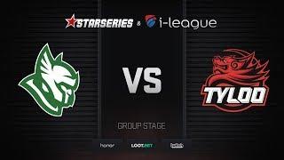 Heroic vs TyLoo, map 1 inferno, StarSeries i-League Season 4 Finals