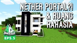 Video IMMOCRAFT - Nether Portal Kita! (Minecraft Survival Indonesia) MP3, 3GP, MP4, WEBM, AVI, FLV Maret 2018