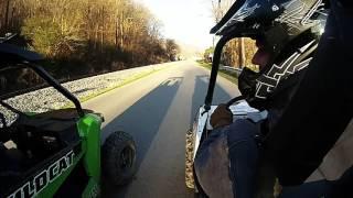 7. RZR 570 vs Wildcat Trail 700 Drag Race