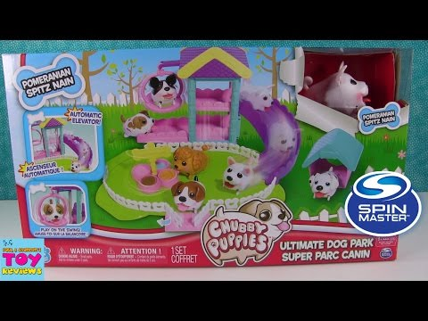Chubby Puppies Ultimate Dog Park | Spin Master | Toy Review | PSToyReviews