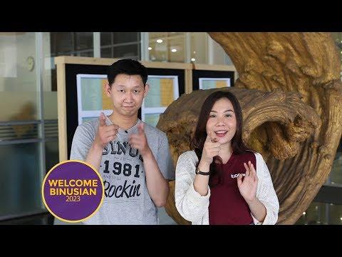 Suasana #FYPBinusian2023 #Binusian2023 di BINUS International Bikin Penasaran!!!   WELCOME BINUSIAN