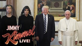 Video Jimmy Kimmel on Trump's Visit with the Pope MP3, 3GP, MP4, WEBM, AVI, FLV Oktober 2018
