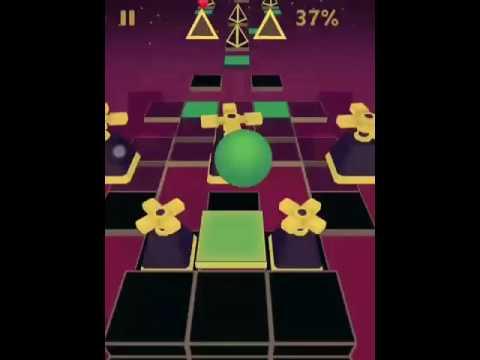 Rolling Sky E-Labyrinth Level 9 (видео)
