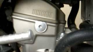 6. 2006 Honda CRF250R sitting idle idling