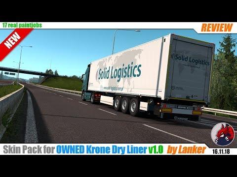 Skin Pack for Krone Dry Liner 1.32