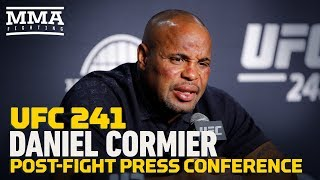 UFC 241: Daniel Cormier Post-Fight Press Conference - MMA Fighting by MMA Fighting