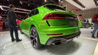 Audi RS Q8 First Look (No Talking) by MilesPerHr