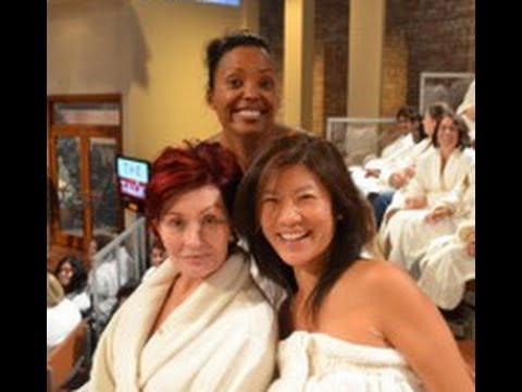 Talk Show - Sheryl Underwood, Sara Gilbert, Sharon Osbourne, Aisha Tyler, and Julie Chen talk about the season premiere of CBS' The Talk no makeup show. To read more abo...