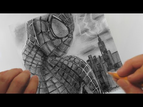 Speed Drawing - Spiderman