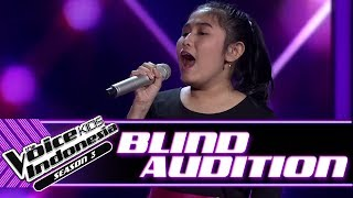 Video Aisha - To Love You More | Blind Auditions | The Voice Kids Indonesia Season 3 GTV 2018 MP3, 3GP, MP4, WEBM, AVI, FLV Agustus 2018