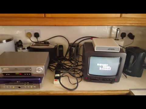 Macrovision In Action & Macrovision Removal Demonstration VHS CP