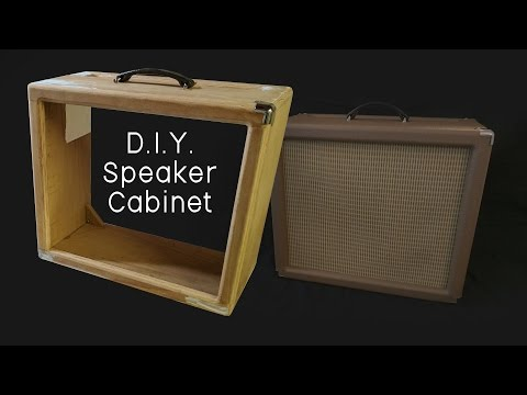 D.I.Y. Speaker Cabinet Build - Part 1 (woodworking)