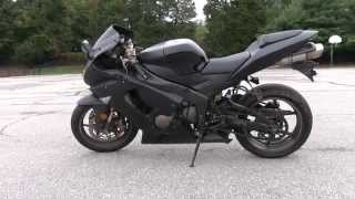 6. 2005 Kawasaki ZX6R All Black FOR SALE