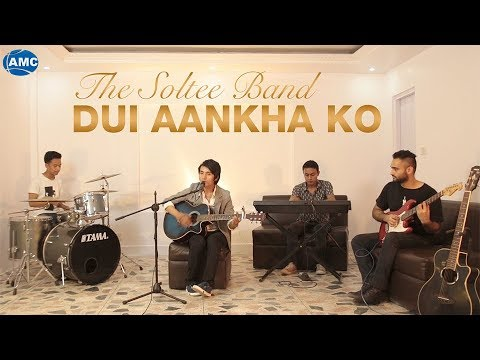(Dui Aankhama | THE SOLTEE BAND | New Nepali Pop Song | Official Video - Duration: 4 minutes, 45 seconds.)