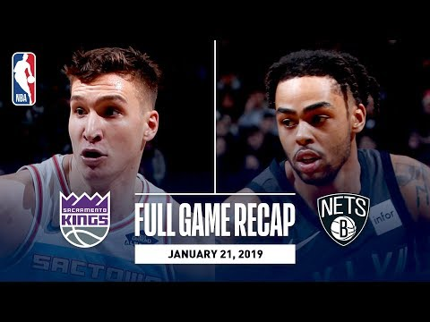 Video: Full Game Recap: Kings vs Nets | D'Angelo Russell Leads All Scorers With 31 Points