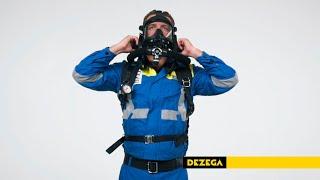 DEZEGA closed-circuit SCBA P-30EX youtube video