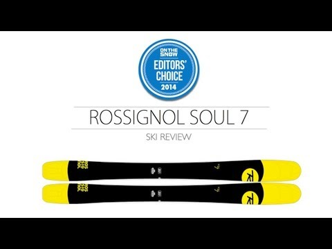 2014 Rossignol Soul 7 Ski Review - Men's All Mountain Editors' Choice