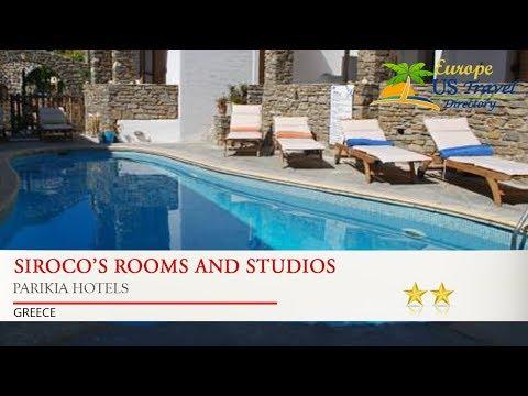 Siroco's Rooms And Studios - Parikia Hotels, Greece