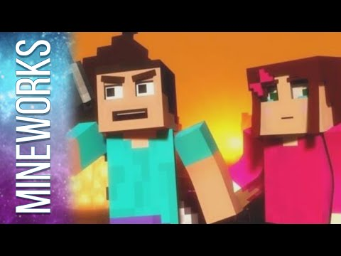 """Mineshaft"" - A Minecraft Parody of Maroon 5's Payphone (Music Video)"