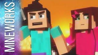 "♫ ""Mineshaft"" - A Minecraft Parody of Maroon 5's Payphone (Music Video)"