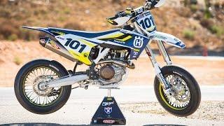 10. Racer X Films: 2016 Husqvarna FS 450 (Supermoto)
