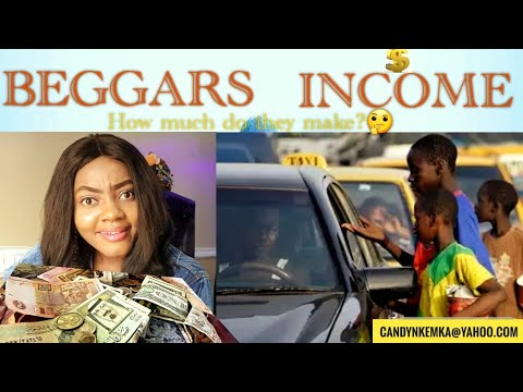 BEGGARS INCOME/ World richest beggars/How much do beggars make?