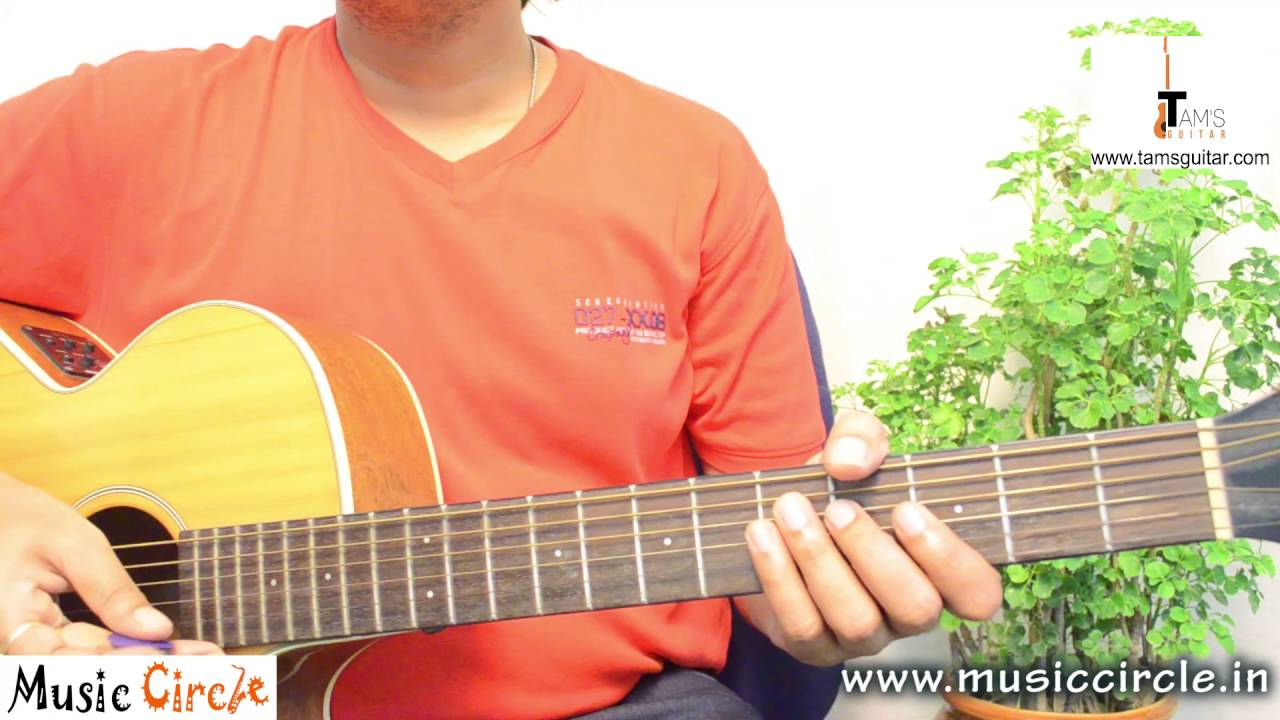 Ae dil hai mushkil guitar lesson for beginners   Melody/tabs lessons   Tamsguitar