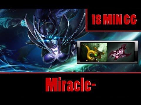 Dota 2 - Miracle- plays Phantom Assassin, 18 MIN GG