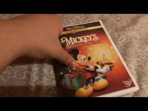 Mickey's Once Upon A Christmas 2000 DVD Review