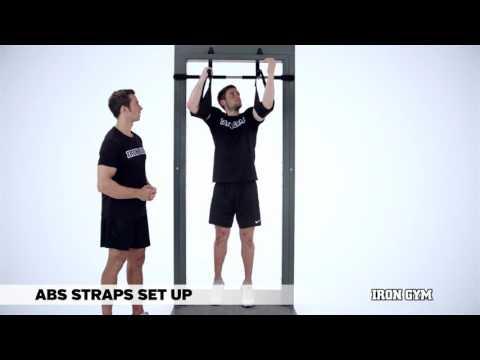 Ab Straps Set Up - IRON GYM® Training Academy