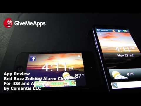 Video of BedBuzz Talking Alarm Clock