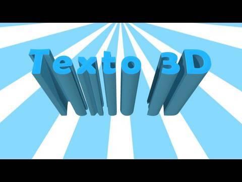Photoshop CS5: Texto 3D NATIVO en Photoshop CS5 EXTENDED