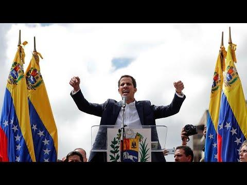 O Tραμπ αναγνώρισε τον Χουάν Γκουάιδο πρόεδρο της Βενεζουέλας…